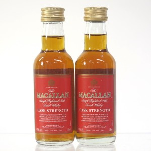 Macallan Cask Strength Miniature 2 x 5cl / US Import
