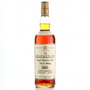 Macallan 1980 18 Year Old
