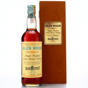 Glen Mhor 1966 Bar Metro 30 Year Old 30th Anniversary