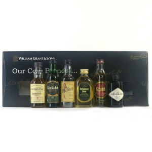 William Grant & Sons 'Our Core Brands' Miniature Gift Pack / 6 x 5cl
