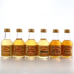Whisky Connoisseur Miniature x 6 / Includes Port Ellen 1983