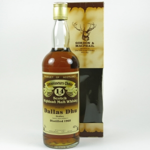 Dallas Dhu 1968 Gordon and Macphail 14 Year Old front