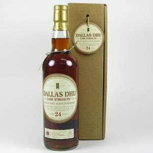Dallas Dhu 24 Year Old Historic Scotland Cask Strength front