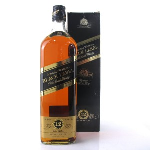 Johnnie Walker Black Label 12 Year Old 1 Litre / Ryder Cup 1995