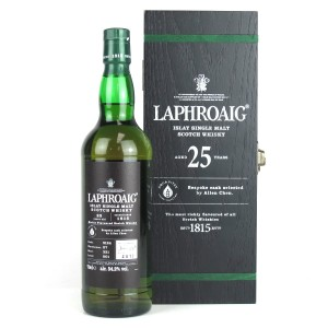 Laphroaig 25 Year Old Single Cask / Aqua Vitae Whisky Selection