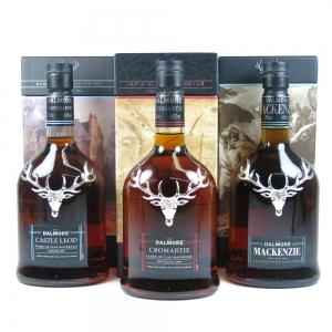 Dalmore Clan Mackenzie Series 3 x 70cl (Castle Leod, Cromartie, Mackenzie) front