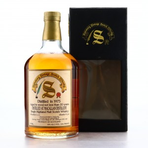 Macallan 1975 Signatory Vintage 20 Year Old 75cl / US Import