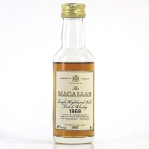 Macallan 18 Year Old 1969 Miniature 5cl