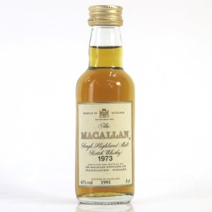Macallan 18 Year Old 1973 Miniature 5cl