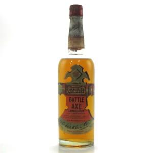 Battle Axe Jamaica Rum 1950s