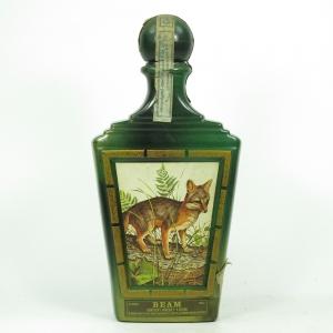 Beam's Kentucky Whiskey Decanter / Gray Fox