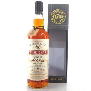 Glendullan 1996 Cadenhead's 20 Year Old Wine Cask