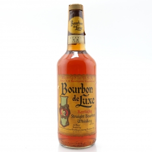 Bourbon de Luxe Kentucky Straight Bourbon 1980s