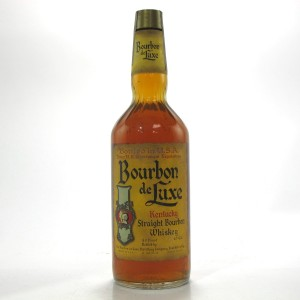 Bourbon de Luxe Kentucky Straight Bourbon 1970s