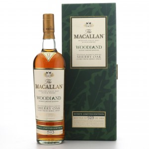 *Macallan 12 Year Old Woodland Estate Limited Edition