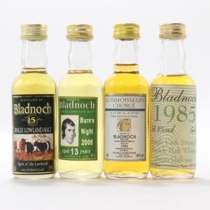 Bladnoch Miniature Selection 4 x 5cl
