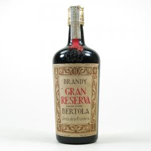 Bertola Gran Reserva Brandy 50 Year Old Circa 1970s