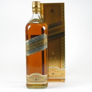 Johnnie Walker Gold Label 18 Year Old 1 Litre front