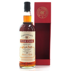 Glengoyne 1996 Cadenhead's 19 Year Old / Chateau Lafite Wine Cask