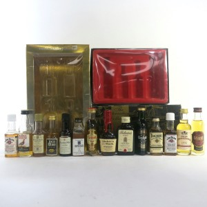 Scotch & North American Whisky Miniatures 14 x 5cl