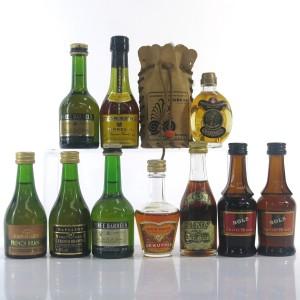 Brandy Miniatures Selection x 11
