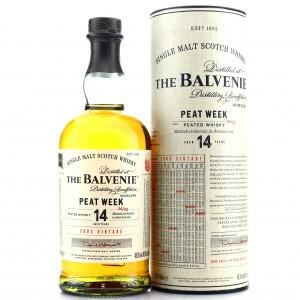 Balvenie 2003 Peat Week 14 Year Old