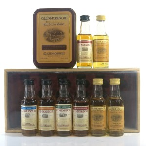 Glenmorangie Miniature Gift Packs 8 x 5cl / includes Wood Expressions