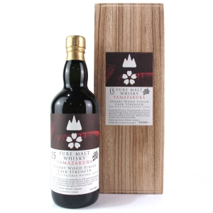 Yamazakura 15 Year Old Sherry Wood Cask Strength