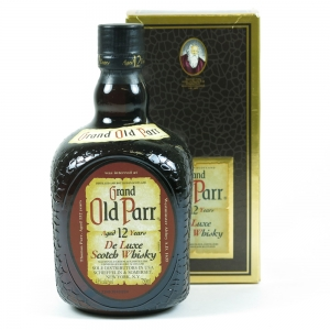 Grand Old Parr 12 Year Old 75cl Front