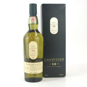Lagavulin 12 Year Old Cask Strength 2014 Release