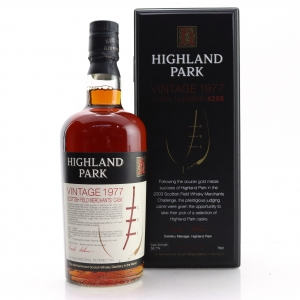 Highland Park 1977 Single Cask #4258 / Scottish Field Merchants