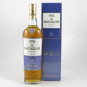 Macallan 18 Year Old Fine Oak front