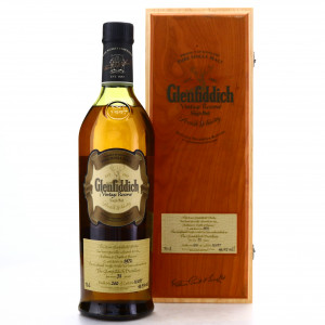 Glenfiddich 1972 Vintage Reserve 31 Year Old #16037