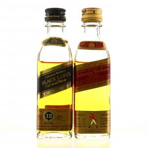 Johnnie Walker Miniature x 2 / US Import