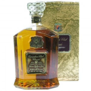 Canadian Club Classic 12 Year Old 1 Litre front