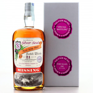 Port Ellen 1982 Silver Seal 21 Year Old Magnum 1.5 Litre