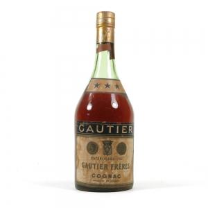 Gautier Freres Three Star Cognac 1950s/1960s