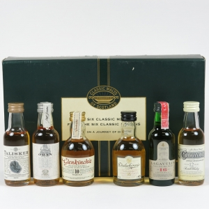 Classic Malts Gift Pack 6 x 5cl front