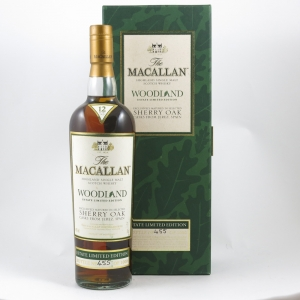 Macallan 12 Year Old Woodland Estate Limited Edition front