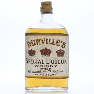 Dunville's Special Liqueur Whisky Half Bottle 1948 Rotation