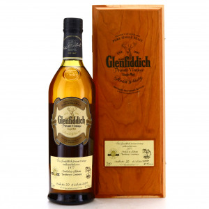 Glenfiddich 1977 Private Vintage #26597 / Turnberry's Centenary