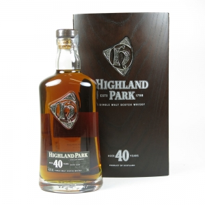 Highland Park 40 Year Old front
