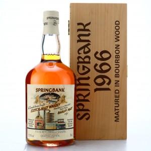 Springbank 1966 Bourbon Cask #499 / Local Barley