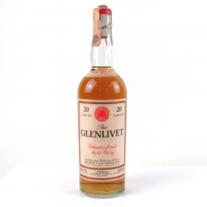 Glenlivet 20 Year Old / Baretto Import