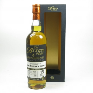 Arran 1997 Single Cask The Whisky Shop 15 Year Old