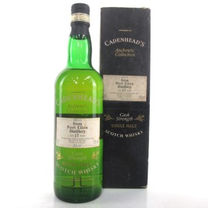 Port Ellen 1980 Cadenhead's 17 Year Old