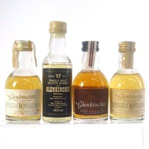 Glenkinchie Miniatures Selection x 4
