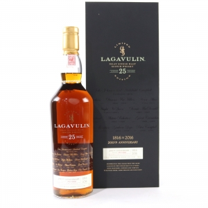 Lagavulin 25 Year Old Bicentenary Edition