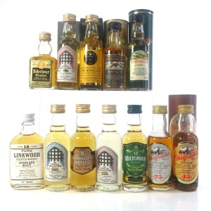 Speyside Miniature Selection / 12 x 5cl