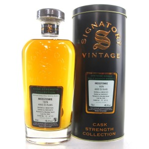Mosstowie 1979 Signatory Vintage 35 Year Old Cask Strength